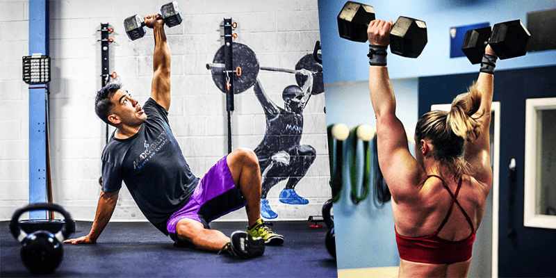 6 Dumbbell Exercises That Every Crossfitter Needs to Master