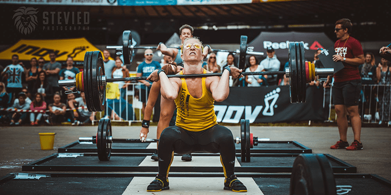 training roadblocks front squat crossfit athlete