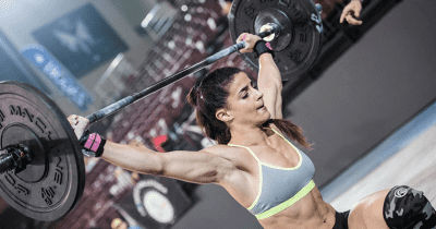 hang snatch crossfit competition