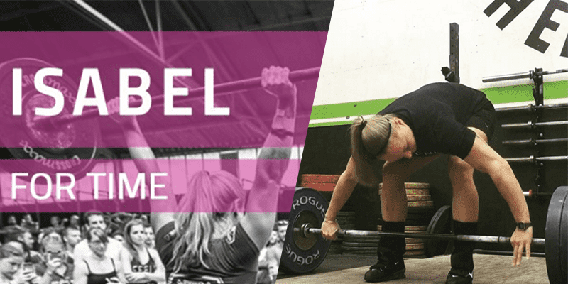 isable wod crossfit snatch lift