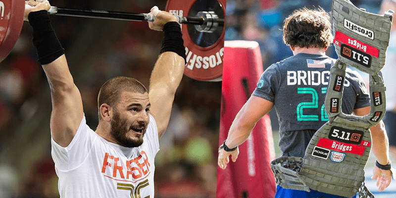 The Best of Josh Bridges Trash Talking Mat Fraser During The CrossFit Games