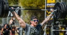 Overhead squat mobility crossfit athlete