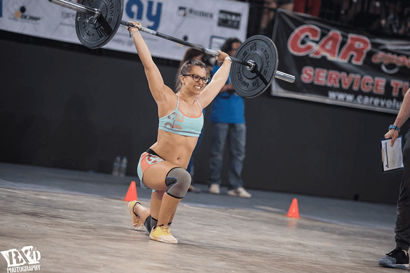 The CrossFit Open walking lunges