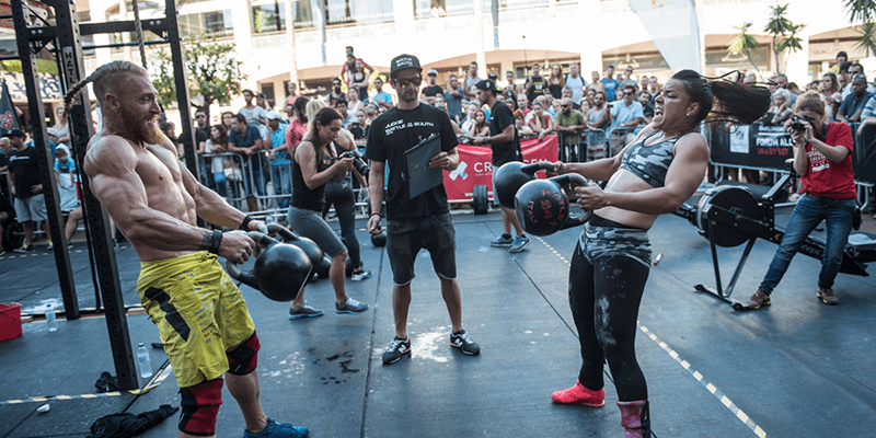 7 Tough Partner WODs for Crossfitters