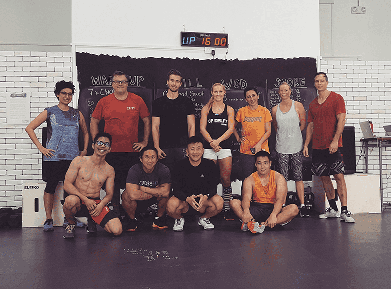 set free crossfit box members