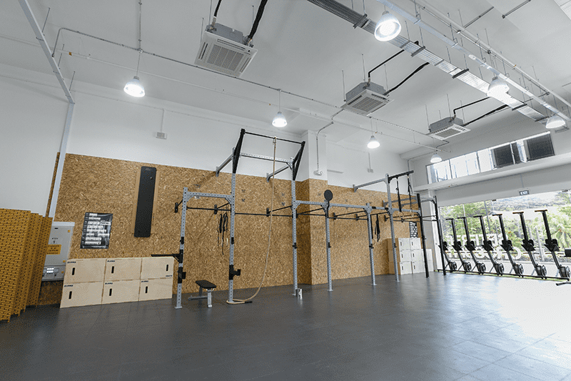 set free crossfit inside