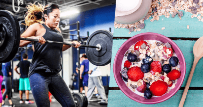 Athlete and fruits 2019 CrossFit open
