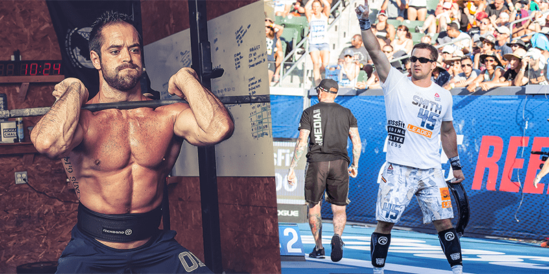 Ben Smith vs Rich Froning – Open throwback 16.2