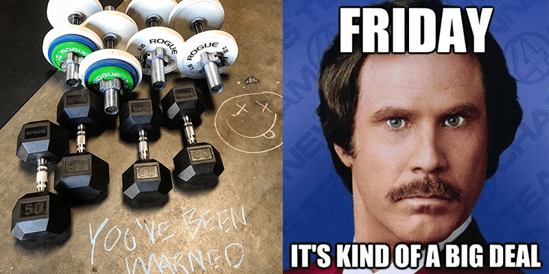 7 Memes that Perfectly Depict CrossFit Open Workout 17.1