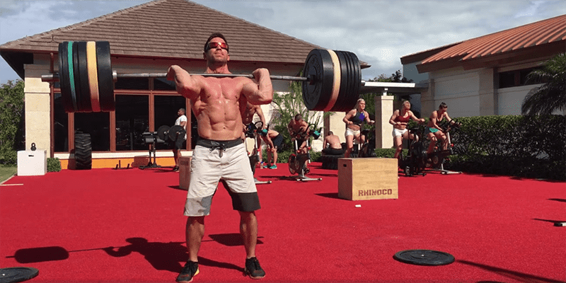 Dan Bailey Smashes a 143 kg Power Clean and Jerk