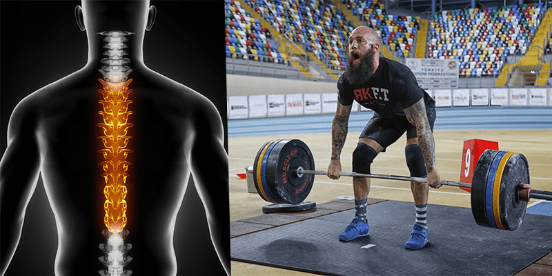Deadlift thoracic mobility