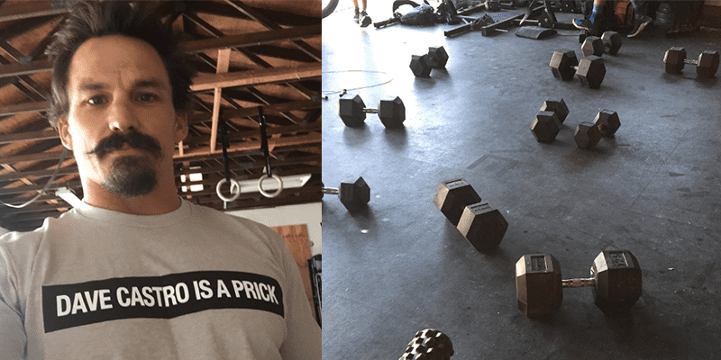 WOD from Josh Bridges and the Story Behind his New T Shirt