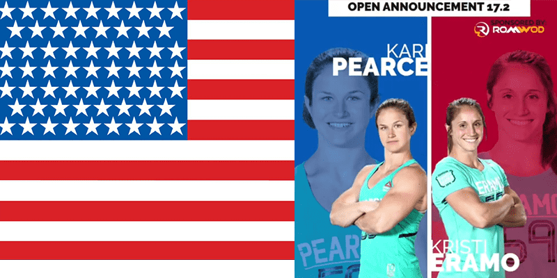 17.2 CrossFit Open Announcement = Kristi Eramo Vs Kari Pearce