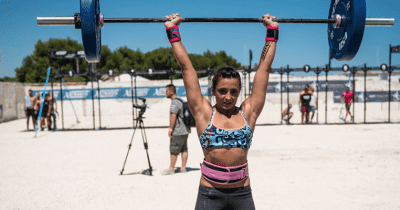 overhead stability crossfit athlete
