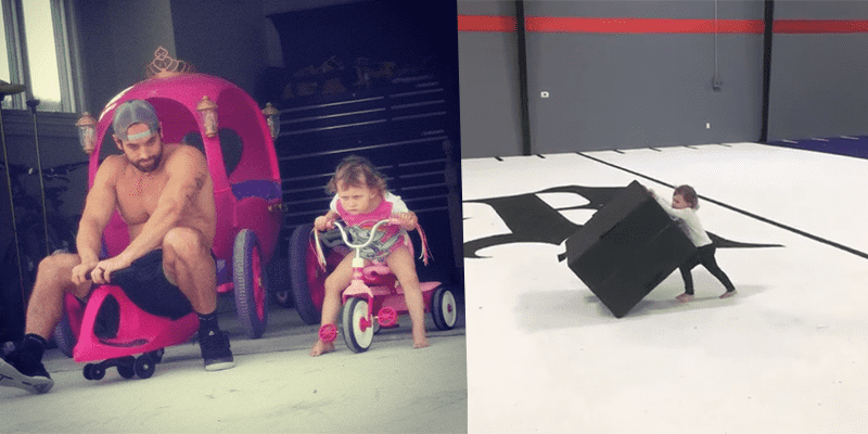Rich Froning's Daughter Cheering Him On at CrossFit Games is Adorable
