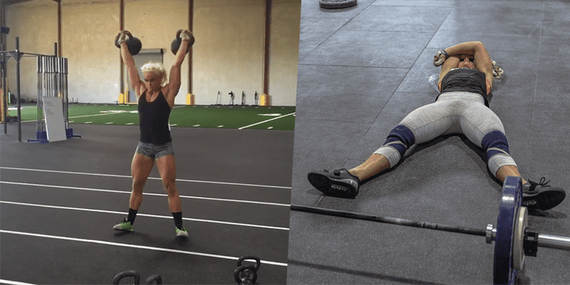 Try This Quick and Nasty Kettlebell Workout from Sara Sigmundsdottir