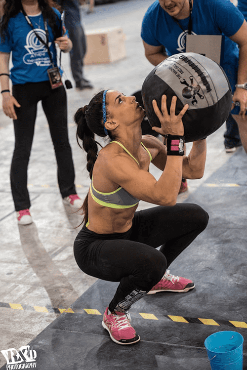 the crossfit open 2017 wall balls
