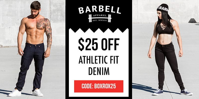 Barbell Apparel Athletic Fit Denim