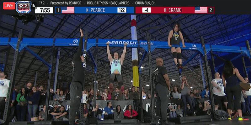 Kari Pearce Wins 17.2 CrossFit Open Workout Announcement!