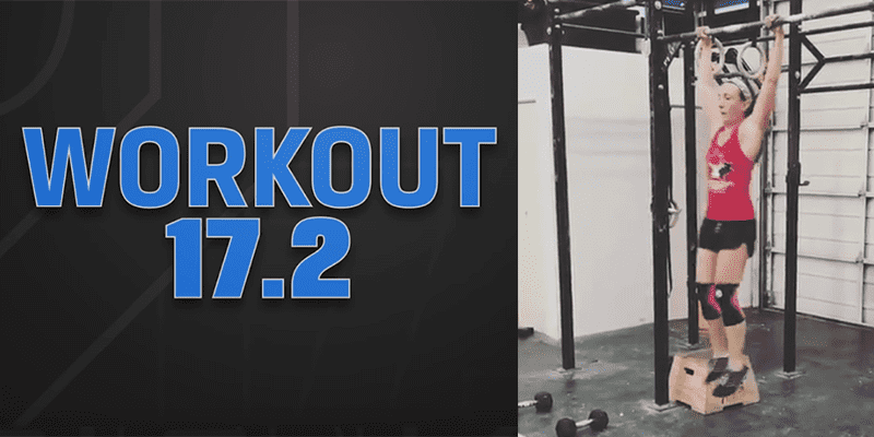 Crossfitter Fran Nails Her First Ever Kipping Pull Up During Open Workout 17.2