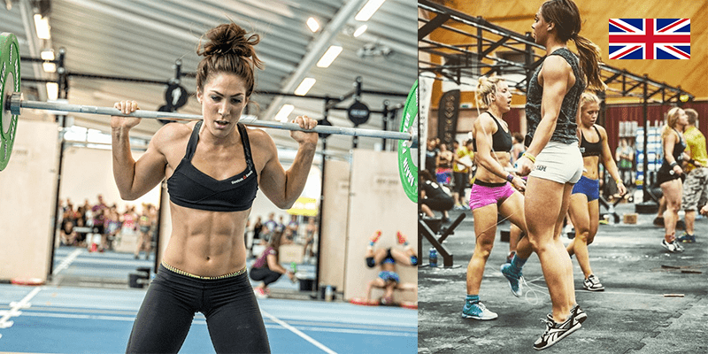Megan and laura female uk crossfitters