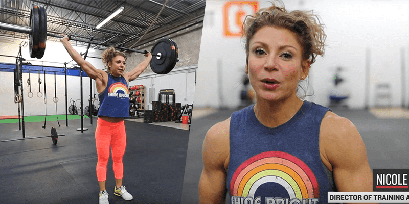 Nicole Carroll tips for Crossfit open workout 17.3