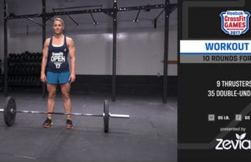 Movement Standards and Rules for CrossFit Open Workout 17.5
