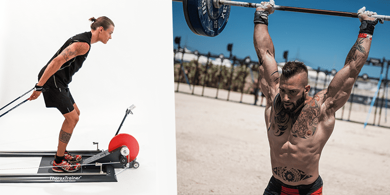 ThoraxTrainer training jerk lift mental toughness
