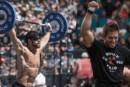 Rich Froning and Dan Bailey Battling in CrossFit Open Workout 17.3