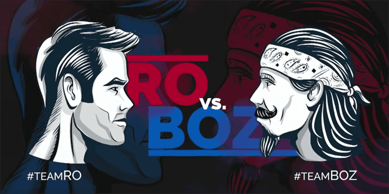 Ro Vs Boz is Back -The Guys Do Battle On The Obstacle Course CrossFit Games Event!