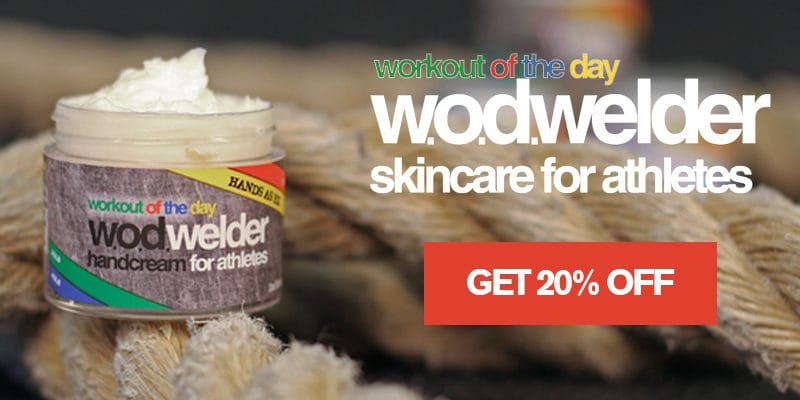 w.o.d. welder skin hand care product