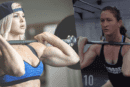 Brooke Ence and Tia-Clair Toomey Battle in A Punishing Crossfit WOD