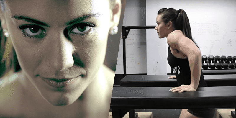 Great Exercise From Camille Leblanc-Bazinet to Help you Get Muscle Ups