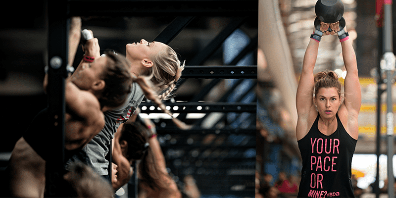Female Body Image crossfit athletes
