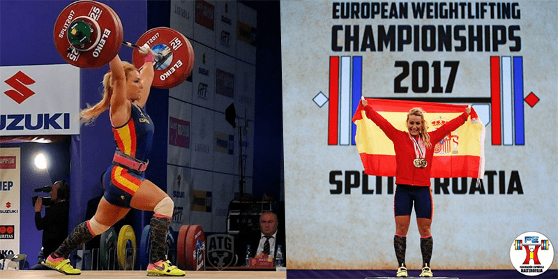 WEIGHTLIFTING NEWS – Lydia Valentin Wins Gold for Spain with a 137kg Clean and Jerk!