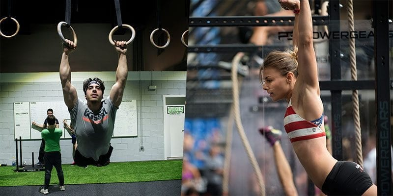 muscle ups crossfit athletes