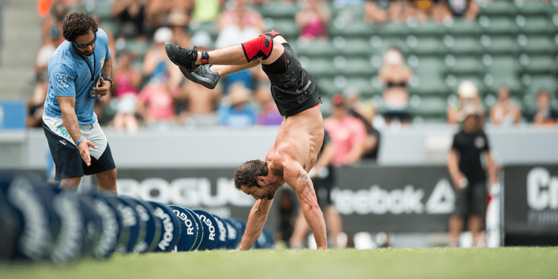 handstand walk rich froning scaling crossfit open workout 19.3