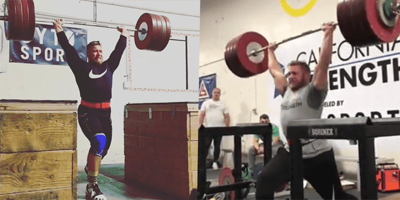 Awesome Strength from Wes Kitts as He Smashes a 237 kg Jerk!