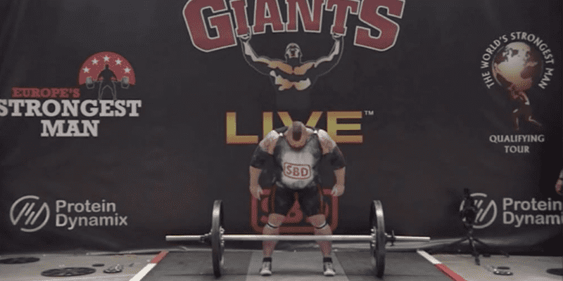 "NEW WORLD RECORD – Check out the Latest Lift from ""The Beast"" Eddie Hall at Europe's Strongest Man"