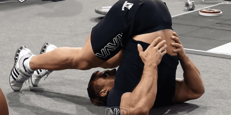 KLokov CrossFit stretching exercises weightlifting