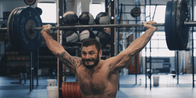 "Watch Part 1 of the New Mat Fraser Documentary ""Making a Champion"""