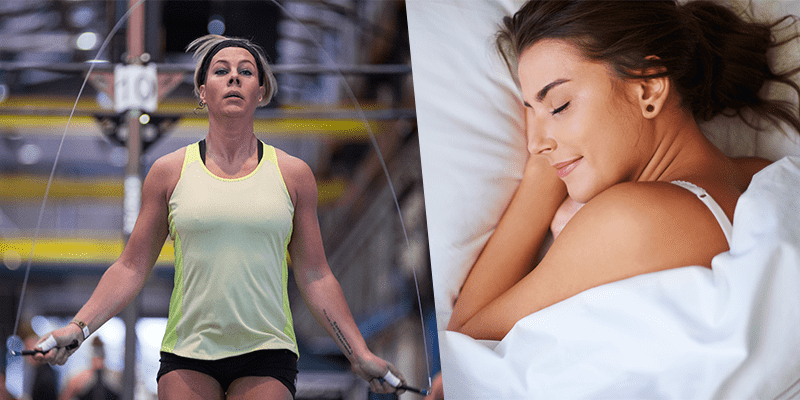 Sleep and double unders protein deficiency