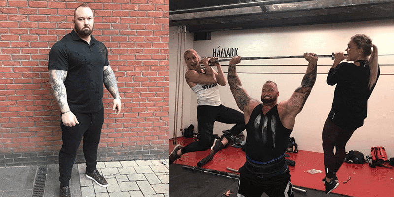 STRONGMAN NEWS – Despite Being Diagnosed with Bell's Palsy, Thor will Still Compete at Europe's Strongest Man Competition