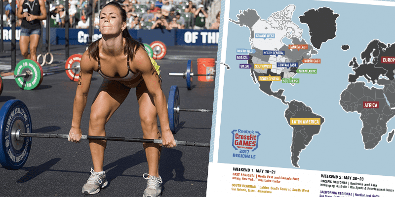 How and When To Watch The 2017 CrossFit Regionals this Weekend (South and East)