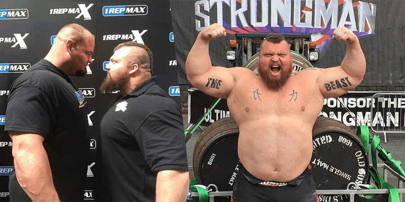 Eddie Hall Beats Shaw and Thor to become The World's Strongest Man 2017!