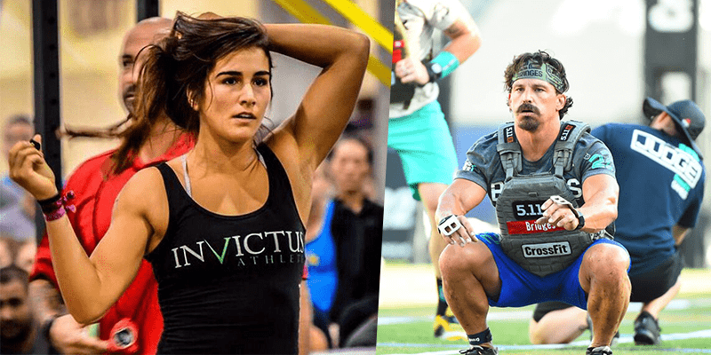 CrossFit Californian Regionals Lauren Fisher Josh Bridges