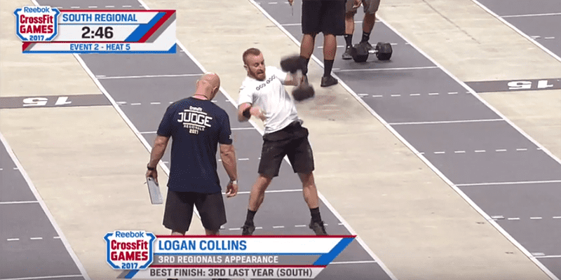 Crossfit South Regionals event 1 and 2