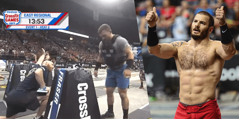 CROSSFIT NEWS – Mat Fraser Wins Event 1 at Regionals!