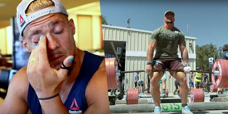 Talking about The CrossFit Games and His Special Needs Training Buddies Brings Sam Dancer to Tears