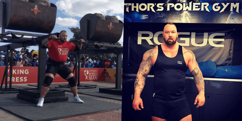 "Thor claims he ""Was Robbed"" At World's Strongest Man Because of No-Rep"